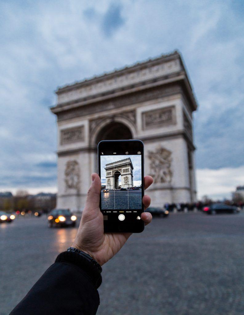 Fotografía de viajes propiedad intelectual