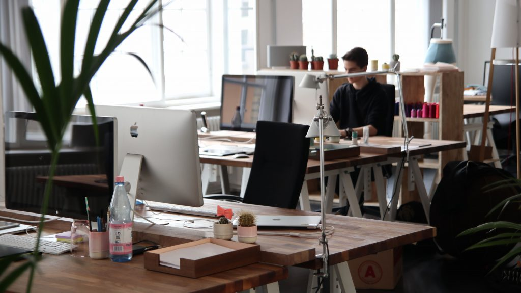 Oficina de una start-up